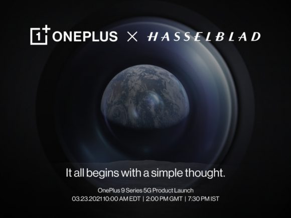 OnePlus 9 Series Launches March 23rd Image